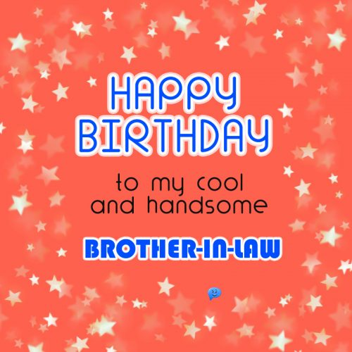 Happy Birthday to my cool and handsome brother-in-law!