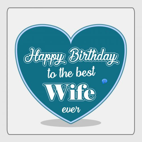 Happy Birthday to the best wife ever.