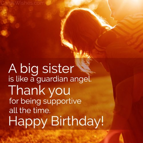 Happy Birthday, Sister! In case I didn't tell you, you've always been my second mom.