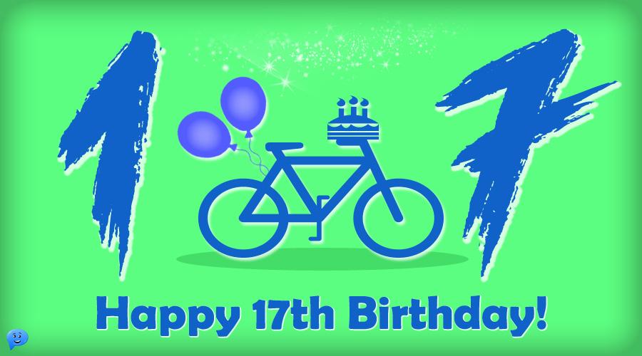 Happy 17th Birthday!