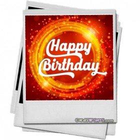 Happy Birthday to my Friend's Son